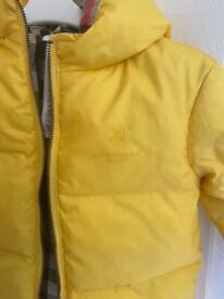 Burberry baby coat age 1-2 years
