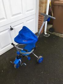 Trikestar Deluxe 4 in 1, 3 wheel tricycle (barely used!)