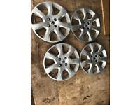 Peugeot wheel trims
