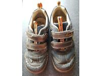 Boys clarks shoes, Size 11.5