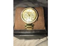 Michael Kors Gold Ladies Watch