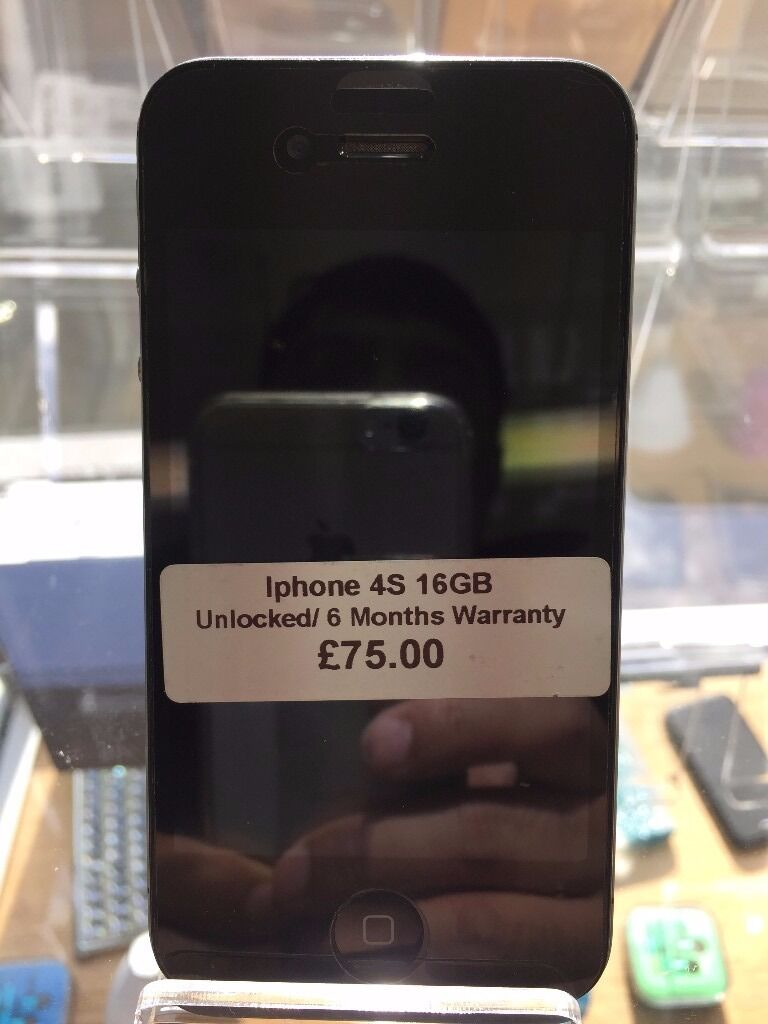 Iphone 4S ,O2/GiffGaff Networks,16GB,Good Condition,With Warranty