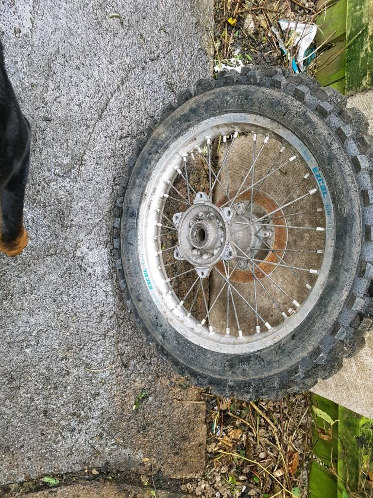 Husqvarna cr rear wheel