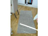 Small beige rug 80*150 cm