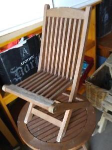 Oakville KIDS MUSKOKA TYPE CHAIR WOOD Outdoor Holiday Summer Rustic Seat Bench Folding Folds