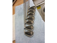 Callaway XHOT 2 Irons plus Odyssey Putter