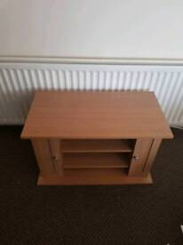 Pine effect tv unit