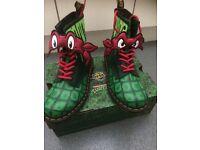 TMNT dr marten boots size 5 BNWT