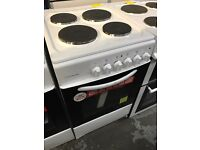 New Graded Cookworks 50cm Hardtop Electric Cooker - White