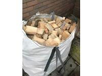 Ton bag of firewood for stoves logs sticks firewood wood