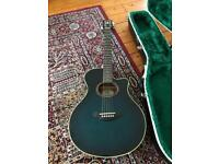 Yamaha APX-5a electro acoustic guitar with lockable Hiscox hard case. Open to offers!