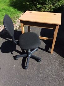 Student Table and Adjustable Chair
