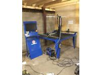 R tech CNC plasma cutter 1200x1200mm table 50amp plasma welding