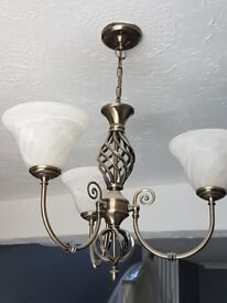 Ceiling and wall light set