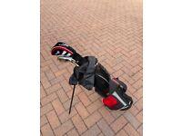 Junior Pro Golf Clubs & Golf Stand Bag