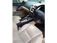 Lexus IS250 semi automatic, MOT till August 2019