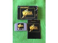 Zelda Ocarina of time N64