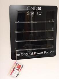 Shellac Wall Rack