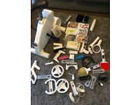 Big Joblot of WII Stuff Inc Console, Games, Accessories and CyberBike