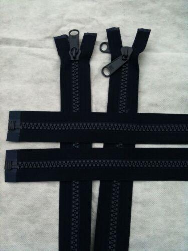resistente zip a forchetta N10 & N8 NERO ESTERNO MARINO utilizzare tende teli