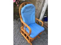 Rocking chair perfect for nursery or bedroom