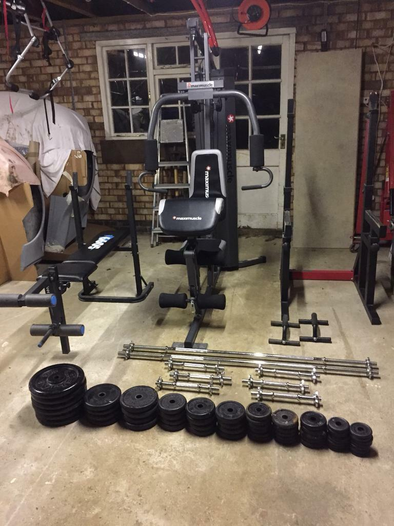 Maxi muscle professional home gym in chatham kent gumtree