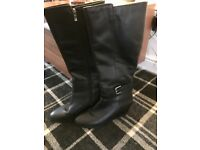 Ladies Next knee length leather boots (NEW)