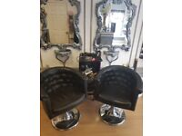 Hairdressing chairs far sale