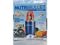 Nutribullet 600series, Limited Addition, blue, Nearly New.