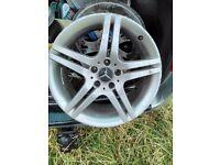 alloy wheel mercedes 18 inch 17 inch ford focus fiesta cheap