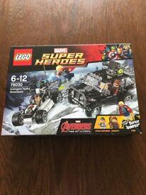 BNIB LEGO Superheroes 76030 Age of Ultron: Avengers Hydra Showdown