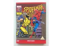 Spider-Man 1995 Series 2 DVD - RARE