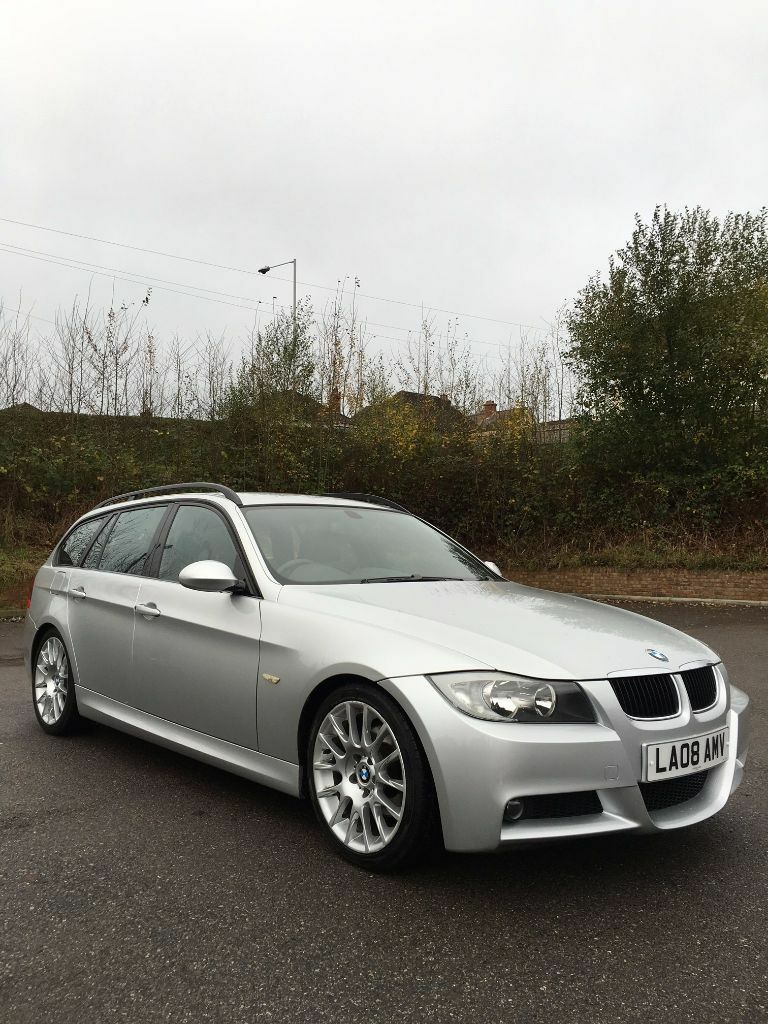 2008 bmw e91 320i m sport touring estate petrol silver. Black Bedroom Furniture Sets. Home Design Ideas