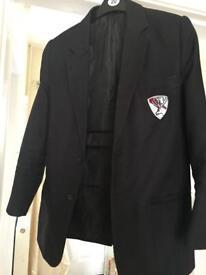 Boys Carlton academy school blazer size 34