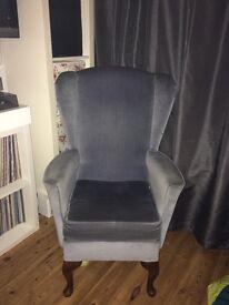 High back armchair. Shackleton