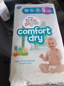 Quick sale !!!Asda little one Nappies