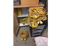 110v cables, splitter, festoon
