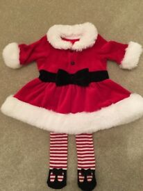 Baby Girls Santa Outfit from Next