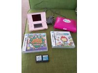 Ds and games and case