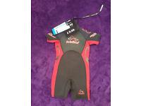 Crane children's shorty wetsuit - 3/4 years - brand new