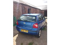 2002 VW polo, 1.4L, 10 months MOT left