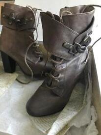 All Saints heeled Damisi Boots size 36