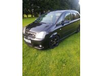 SWAP WHY???? VAUXHALL MERIVA VXR 1.6, LOTS OF MODS, VERY FAST CLEAN RARE CAR.