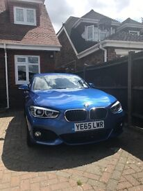2015 BMW 116D MSport Auto Estoril Blue