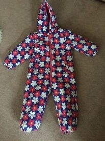 Young Girls Snowsuit