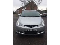 MAZDA 5 SPORT REMAPED !! MPV 7 SEATER !! DIESEL !! 1 YEAR MOT PX WELCOME !!not zafira touran