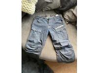 """G Star Raw Dark Denim Men's Jeans 36""""w 30""""l"""