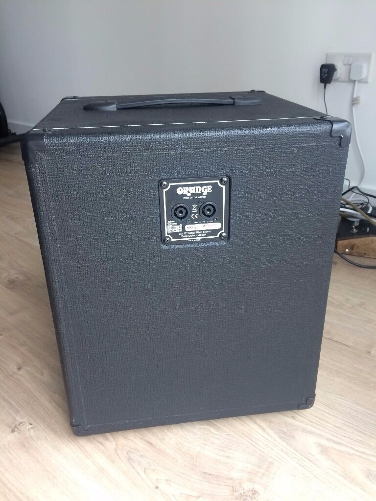 2x12 Bass Cabinet Orange Sp212 Black 2x12 Bass Cabinet In Hackney London Gumtree