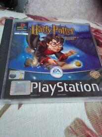 HARRY POTTER PLAYSTATION GAME
