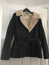 Woman's jacket size 14 . As new , worn once.